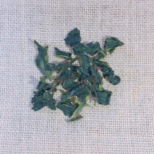 乾燥野菜(ほうれん草)