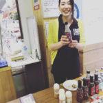 イーナバリ試食販売@道の駅みなみやましろ村