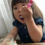 安納芋ババロア 美味しい顔