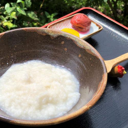 高知県はたやま夢楽土佐ジロー鶏ガラスープのお粥